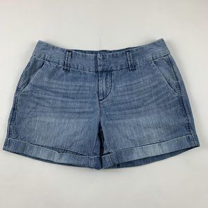 Dear John Chambray Tailored Denim Shorts 27